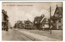 La Panne - Boulevard De Dunkerque - Dos : Pub JEAN Chapelier Rue Neuve à Charleroi  - 2 Scans - De Panne