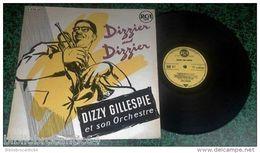 "LP 30cm * DIZZY GILLEPSIE ""DIZZIER AND DIZZIER"" *< RCA A 430.207 En 1950 - Jazz"
