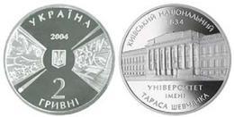 Ukraine - 2 Hryvni 2004 AUNC+ 170 Years Of Shevchenko Kyiv National University Ukr-OP - Ukraine
