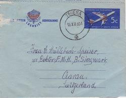 Aerogramme In Die Schweiz (br4081) - Airmail