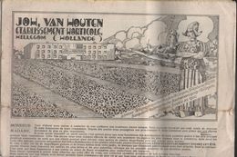 Catalogue 1930 John. Van Houten Etablissement Horticole Hillegom Hollande - Jardinage