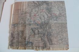 Croquis D'une Partie De La Bataille De Gravelotte 16 Aout 1870 Avec Commentaires Du Général Saget - Topographical Maps