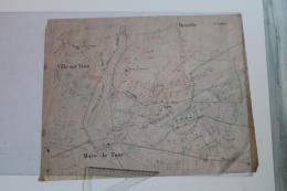 Croquis De La Bataille De  Mars La Tour  16 Aout 1870  Avec Les Unités Représentées Et Des Commentaires - Topographical Maps
