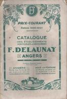 Catalogue 1926-1927 F. Delaunay Angers - Jardinage