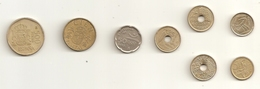 Espagne Spain Collection Peseta Coins Good Condition - [ 5] 1949-… : Koninkrijk
