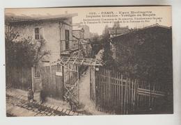 CPA PARIS 18° ARRONDISSEMENT - Vieux Montmartre : Impasse Girardon, Vestige Du Maquis - Arrondissement: 18