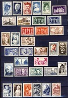 +++IMPECCABLE !!! LOT ANNEE 30- 40  NEUFS**    VOIR SCAN RECTO-VERSO - France