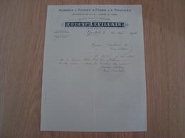 LETTRE EUGENE LEVILLAIN POMMES & POIRES A CIDRE YVETOT 1932 - 1900 – 1949