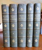 Buffon - Oeuvres Complètes (histoire Naturelle) - Edition En 5 Tomes Avec100 Planches D' Edouard Traviès, Vers 1850 - 1801-1900