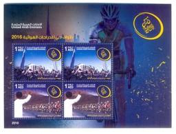 H1- United Arab Emirates Booklet 2016. Dubai Cyclism Tour Autoadhesive. - United Arab Emirates