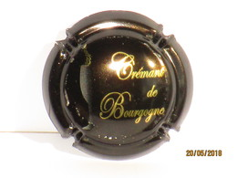 Capsules Ou Plaques De Muselet Mousseux Crémant De Bourgogne - Sparkling Wine