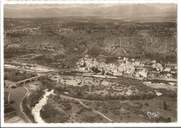 30 Lanas, Vue Panoramique Aérienne. Confluent De L'Ardèche Et De L'Auzon. Carte Inédite (GF311) L300 - Autres Communes