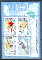 H14- Romania 2000 European Championship Football. Soccer Football EURO 2000. - Soccer