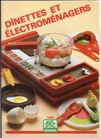 """1984 Catalogue Jouets + Dépliant * Tarifs / Dinettes Et Electroménagers """" Coqueval """" Plastique Et Métal - Other Collections"""
