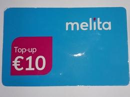 MALTA - MELITA 10 EUROS PHONECARD 2018 - Malta