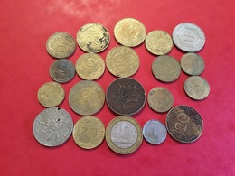 Lot De 20 PIÈCES VOIR LE SCAN - Monete & Banconote