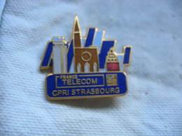Pin's Du CPRI Strasbourg (Commissions Paritaires Régionales Interprofessionnelles) De France Telecom - France Telecom