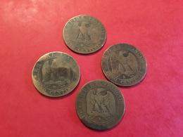 Lot De 4 PIÈCES 5C Nlll Voir Le Scan - Monete & Banconote