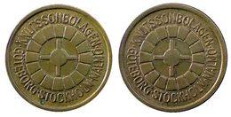 04625 GETTONE JETON TOKEN SWEDEN GAMING PLAY MACHINE Knutssonbolagen Göteborg Stockholm Malmö - Tokens & Medals