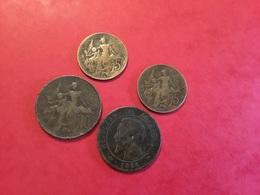 Lot De 4 PIÈCES  Voir Le Scan - Lots & Kiloware - Coins