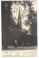 CPA Metz Garnisonkirche Nels 1902 - Metz