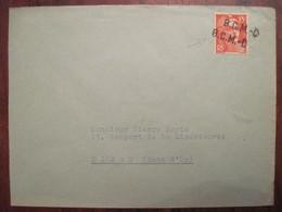 Lettre Enveloppe  Poste Aux Armées FM Franchise Militaire BCMC - Militaire Stempels Vanaf 1900 (buiten De Oorlog)