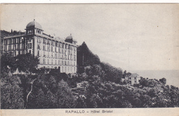 Cpa,italia,italie,liguria ,genova,gene,RAPALLO,le  Grand Hotel Bristol En 1914,style Liberty ,élégant,luxe - Genova (Genoa)