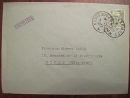 Lettre Enveloppe 1951  Poste Aux Armées FM Franchise Militaire BCMC - Militaire Stempels Vanaf 1900 (buiten De Oorlog)