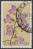 Zambia SG383 1983 Wild Flowers 12n Good/fine Used [37/30795/2D] - Zambia (1965-...)
