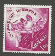 MONACO - N°YT 574 NEUF** LUXE SANS CHARNIERE - COTE YT : 2.20€ - 1962 - Monaco