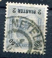 Cancelled METELINO (METELIN ) On 2 Piastres AUSTRIA LEVANT Stamp , Greece - Eastern Austria