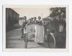 AUTOMOBILE----1936---roues à Rayons ---- B9 - Automobiles