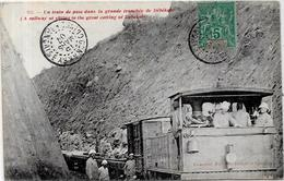 CPA Guinée Afrique Noire Circulé Train Chemin De Fer - Guinée Française