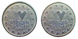 04874 GETTONE JETON TOKEN ARCADE GAMING PLAY MACHINE WONDERLAND - Allemagne