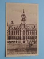 Het STADHUIS ( PJ Bruxelles ) Anno 19?? ( Gekleefd Geweest / Details Zie Foto's ) ! - Sint-Niklaas