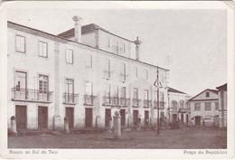 POSTCARD PORTUGAL - ABRANTES - ROSSIO AO SUL DO TEJO - PRAÇA DA REPÚBLICA - Santarem