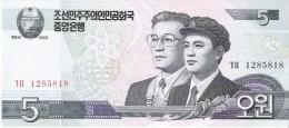 North Korea - Pick 58 - 5 Won 2002 - 2009 - Unc - Corea Del Nord