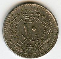 Turquie Turkey 10 Para 1327 / 8 - 1916 El Ghazi KM 768 - Türkei