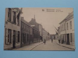 Kerkstraat - Rue De L'Eglise ( Uitg. I De Cock-Van Puyvelde ) Anno 19?? ( Gekleefd Geweest / Details Zie Foto's ) ! - Waasmunster