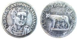 04865 GETTONE JETON TOKEN COMMEMORATIVE AMICI DELLA STORIA LE GRANDI FIGURE DI ROMA - Unclassified