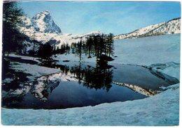 Cervinia. Il Lago Bleu. VG. - Italia