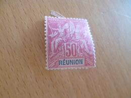 TP Colonies Françaises Réunion Charnière  N°42 Valeur 95€ - Réunion (1852-1975)
