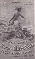 18805# THEODORE CHAMPION TIMBRE POSTE DE COLLECTION PARIS 7ème SUPPLEMENT CATALOGUE YVERT TELLIER 1938 38 PAGES - Other