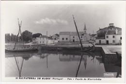 POSTCARD PORTUGAL - SALVATERRA DE MAGOS - CAIS E CAPELA DA MISERICÓRDIA - Santarem