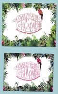 JP GAULTIER - 2 CARTES DIFFERENTES LES EAUX D'ETE : VOIR LE DESCRIPTIF - Perfume Cards