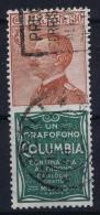 Italy: Sa 9    Obl./Gestempelt/used - 1900-44 Vittorio Emanuele III