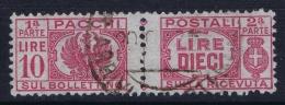 Italy: Sa 64 Obl./Gestempelt/used   1946 - 5. 1944-46 Lieutenance & Umberto II