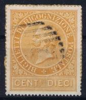 Italy: Sa Ricognizione Postale  Sa 1   Mi Nr 1  On Paper  Verrechnungs Mark - 1861-78 Vittorio Emanuele II
