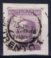 Italy: Venezia Trentino Tridentia Sa 26 Mi Nr 25 Obl./Gestempelt/used - Trentino