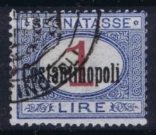 Italy: Levante Costantinopoli Sa Nr 5  Obl./Gestempelt/used - Buitenlandse Kantoren